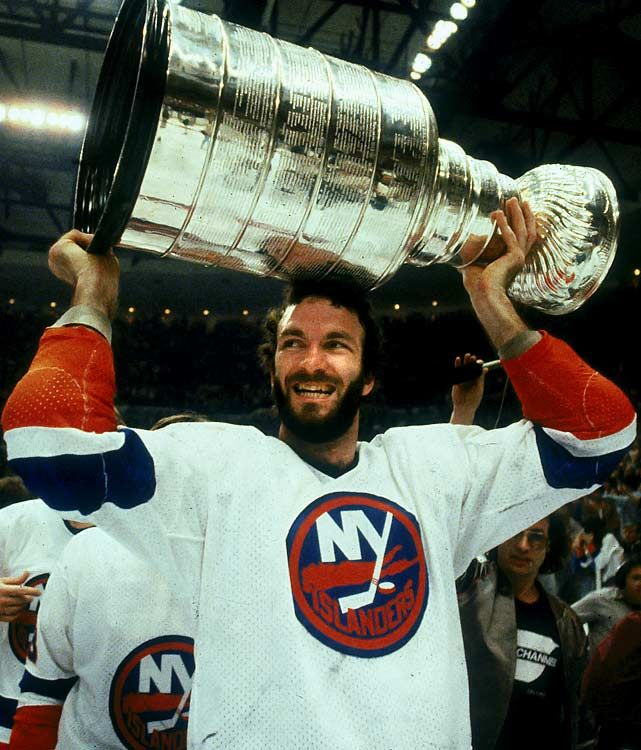 Ken Morrow of the NY Islanders - starting the tradition that lives on for all!