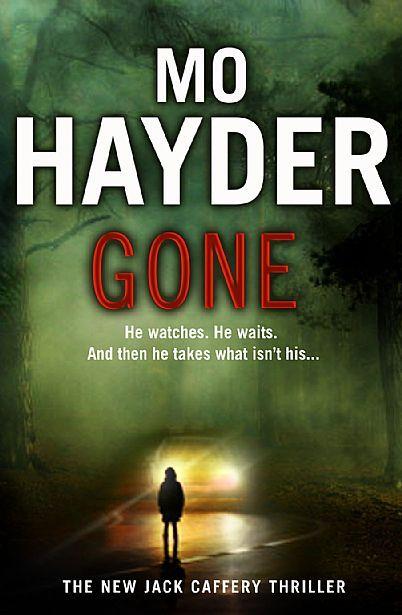 Gone by Mo Hayder (Winner of Best Novel Award)