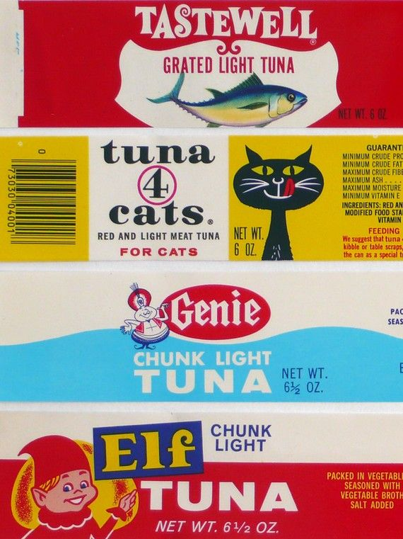 tuna fish labels