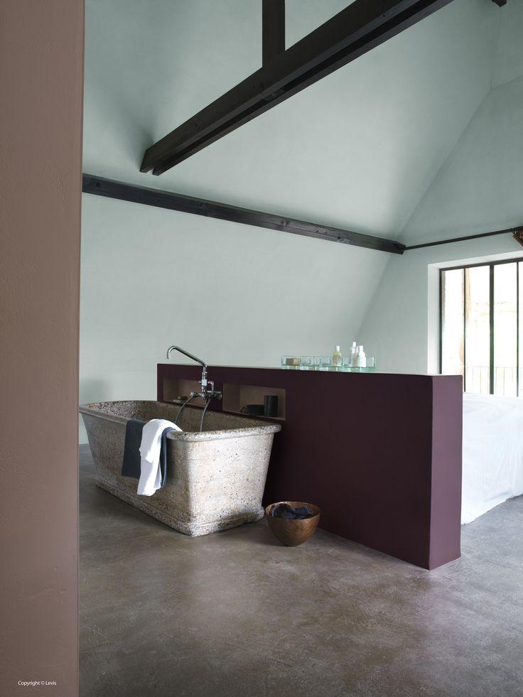 Salle de bains inspiratie levis ambiance mystique et - Repeindre salle de bain quelle couleur ...