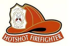 Forest Service Hotshot Fire Helmet Sticker Decal