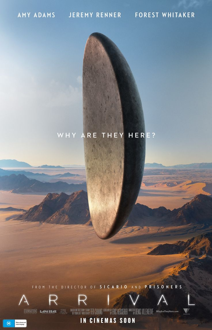 Aliens encircle the world in these 12 striking posters for arrival
