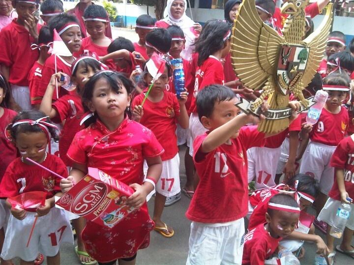 Athena, proudly Anak Indonesia, anak SGM.