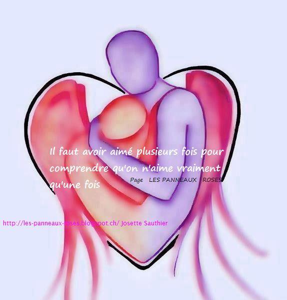 LES PANNEAUX ROSES : Citation sur l'amour véritable