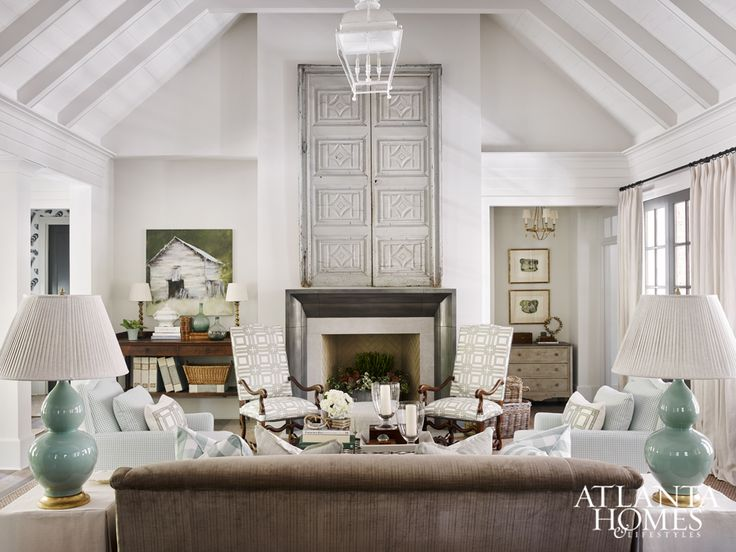 AtlantaDesignerShowhouse. Fireplace StoneFireplacesMedia RoomsLiving ...