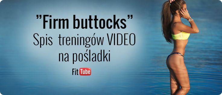 Spis treningów VIDEO na pośladki