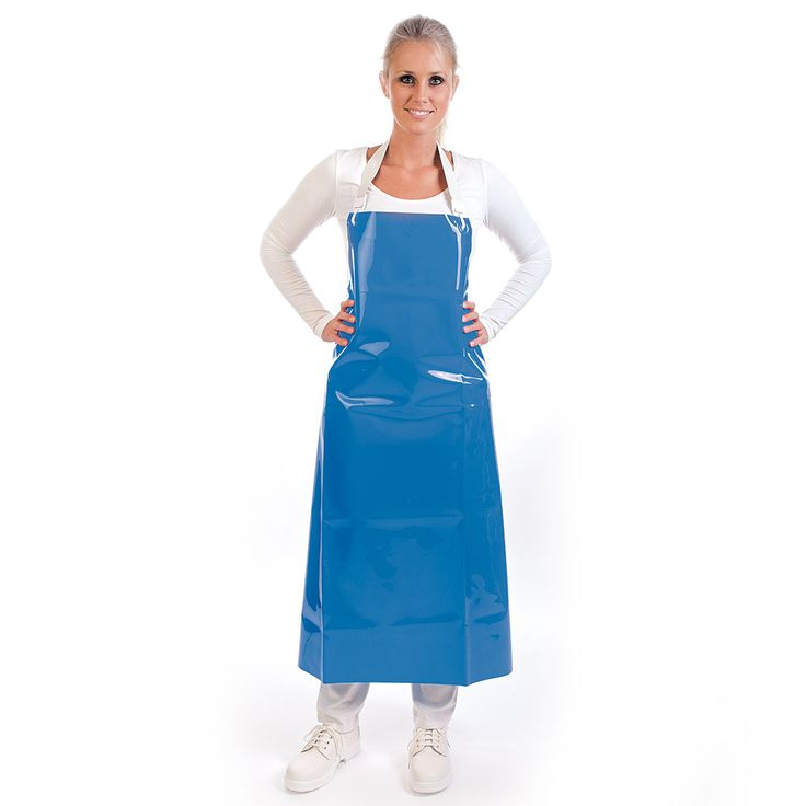 Apron polyurethane 300 my blue | uni-size