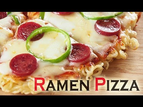 The easiest and tastiest recipe for ramen pizza using instant ramen noodles. If you like ramen and you love pizza, you know you gotta do it! Subscribe for mo...