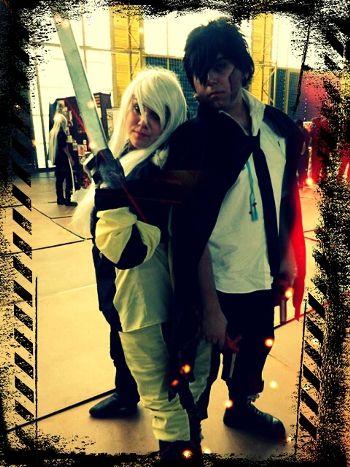 yo (Squallo) y mi novio (xanxus)