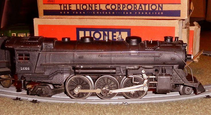 Vintage Lionel toy trains