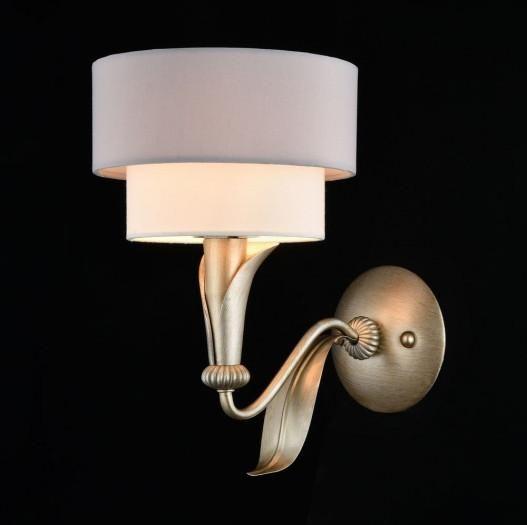 House Wandleuchte Lillian Perl-Gold mit Schirm -- Kronleuchter, Leuchten & Lampen EINFACH und GÜNSTIG online kaufen! Riesige Auswahl + 1A Kundenservice!