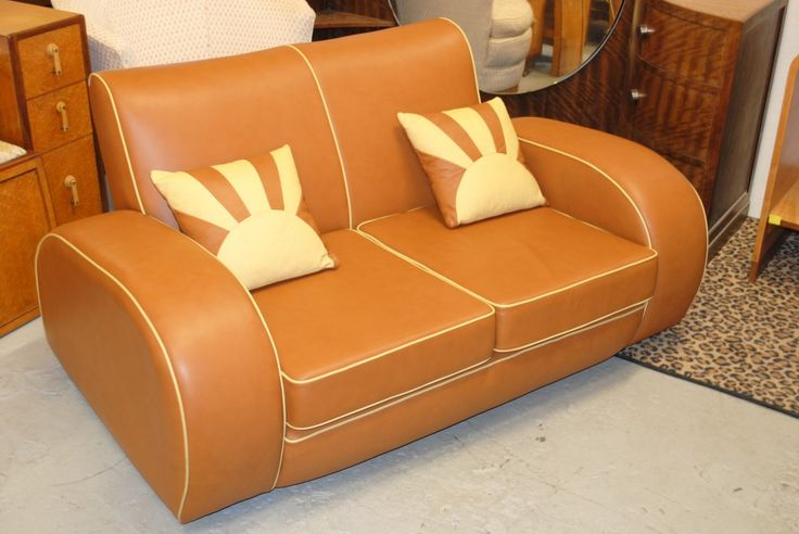 Art Deco Sofa || Cloud 9, Art Deco Furniture Sales