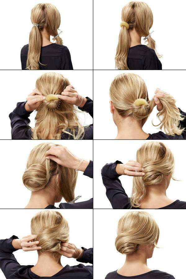 Here you have a beautiful hairstyle. For having a date this is perfect! ♡♥♡