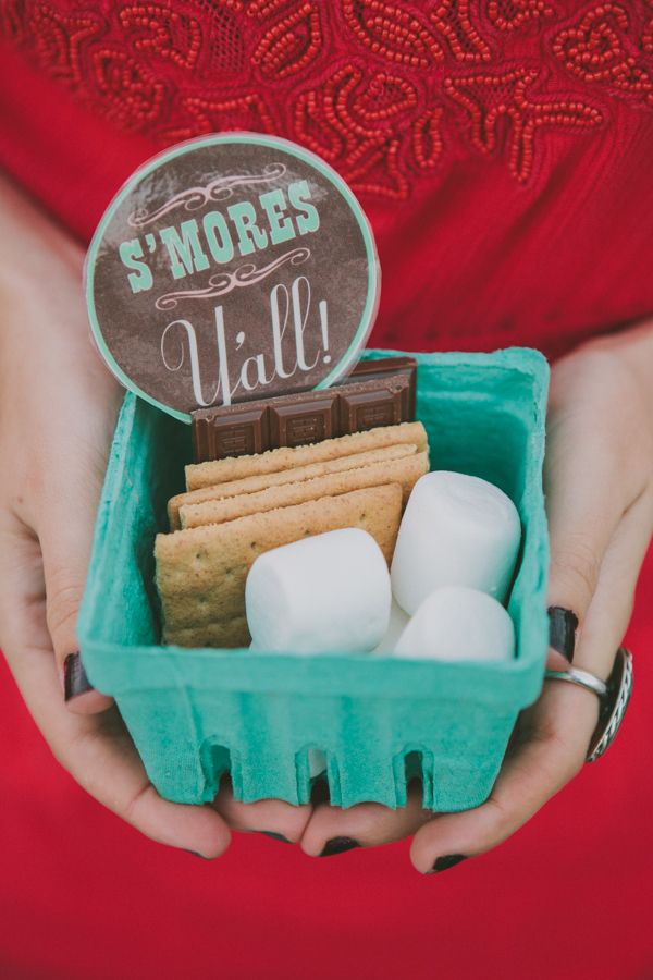 smores idea for a smores bar http://www.weddingchicks.com/2013/09/16/malibu-beach-wedding/