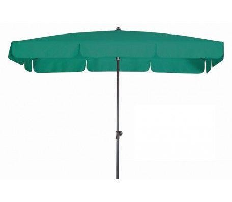 Balkon parasol 260x150 waterdicht groen