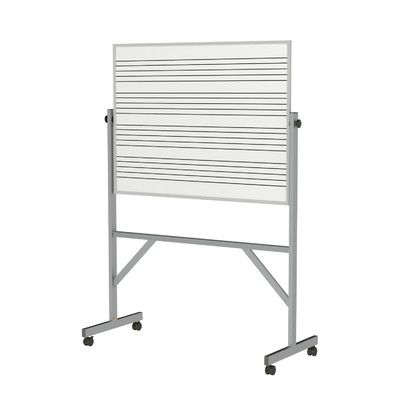 Ghent Reversible Magnetic Whiteboard Size: