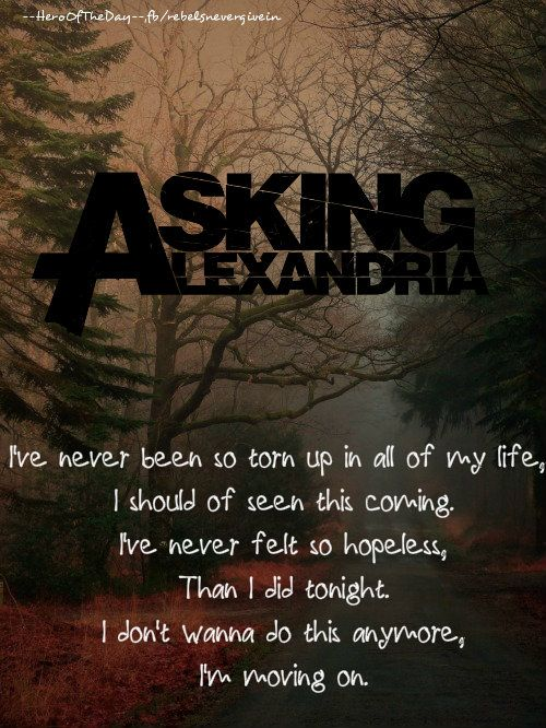 Asking Alexandria - Moving On