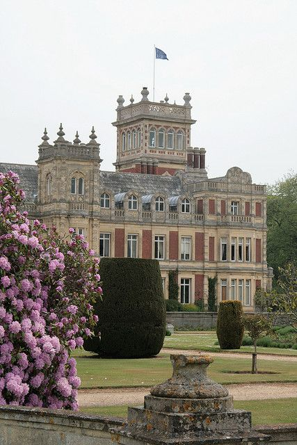 Somerleyton Hall, near Lowestoft, Suffolk. By John Thomas, 1844-51, for Samuel Morton Peto, the self-made building and railway contractor, Baptist and Liberal M.P.