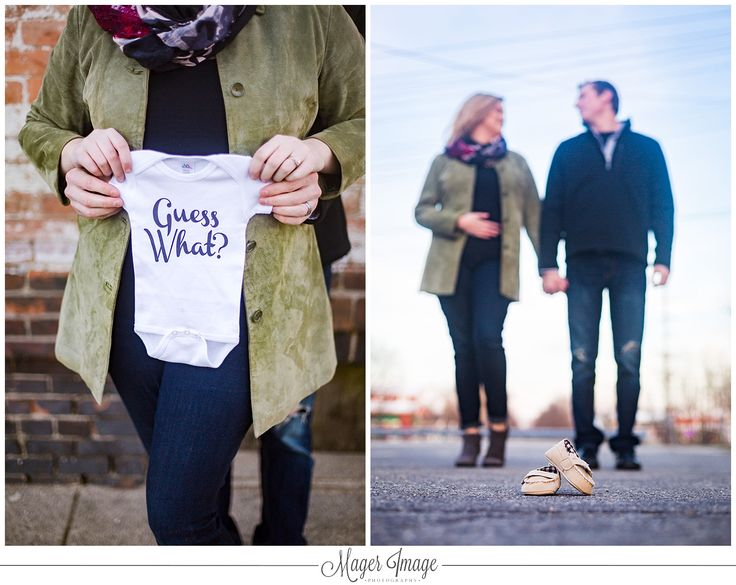 guess what onesie baby announcement shoe illinois photographer