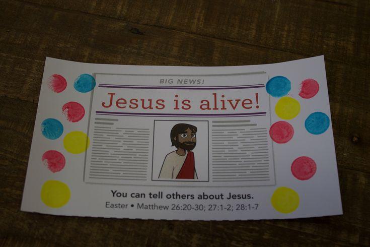 187 best april 2018 big news images on pinterest for Jesus is alive craft ideas