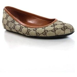 Pre-owned Gucci Flats