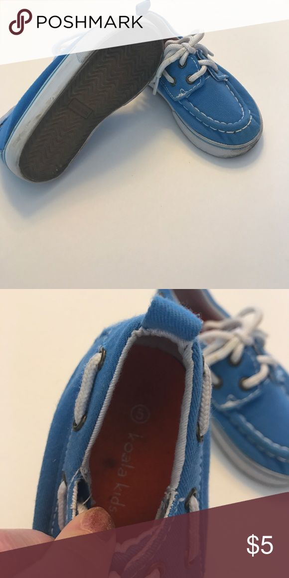 Koala kids 5 blue boat shoes. Koala kids 5 blue boat shoes. Koala Kids Shoes Dress Shoes