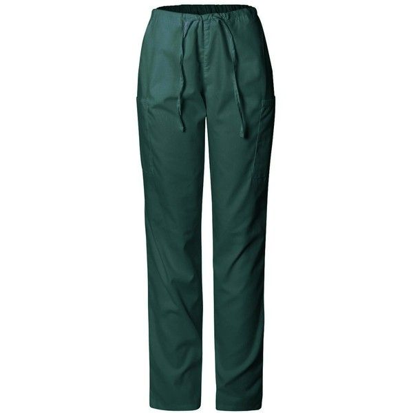 MedPro Women's Medical Scrub 6 Pocket Cargo Pants (Pants Only) (£22) ❤ liked on Polyvore featuring pants, cargo trousers, green cargo pants, six pocket pants, six pocket cargo pants and cargo pants