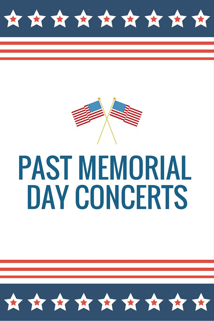 national memorial day concert song list