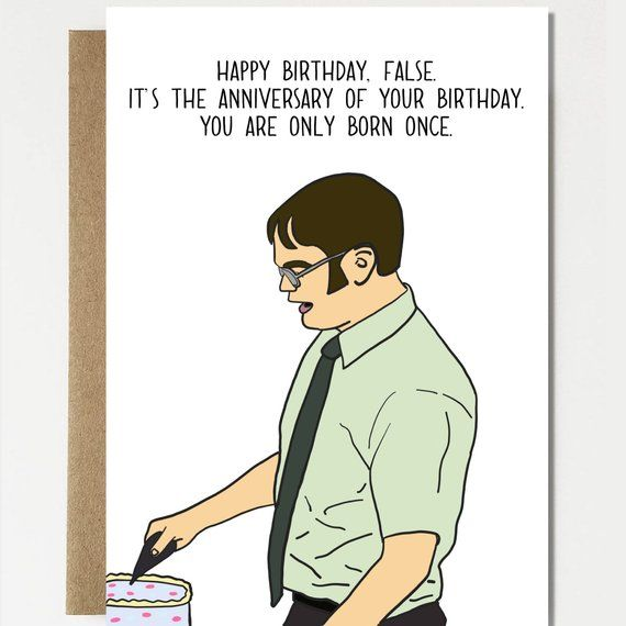 Funny Birthday Anniversary Birthday Card Happy Birthday Etsy Funny Cards Meme Birthday Card Funny Happy Birthday Wishes