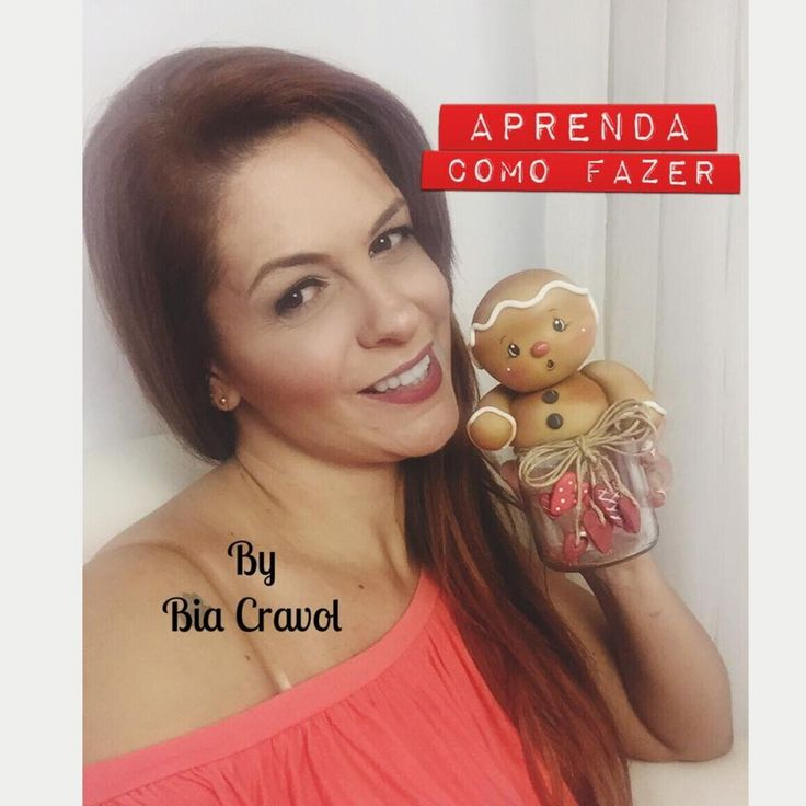 Pote do Ginger - DIY - Bia Cravol - aula de biscuit