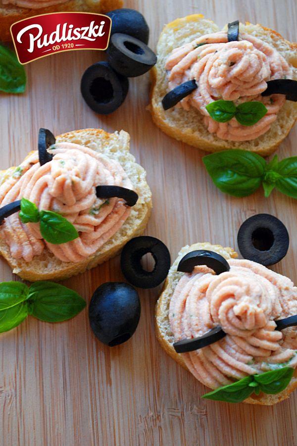 Pudliszkowy krem z ricotta na piknik.  #pudliszki #przepis #wegetariańskie