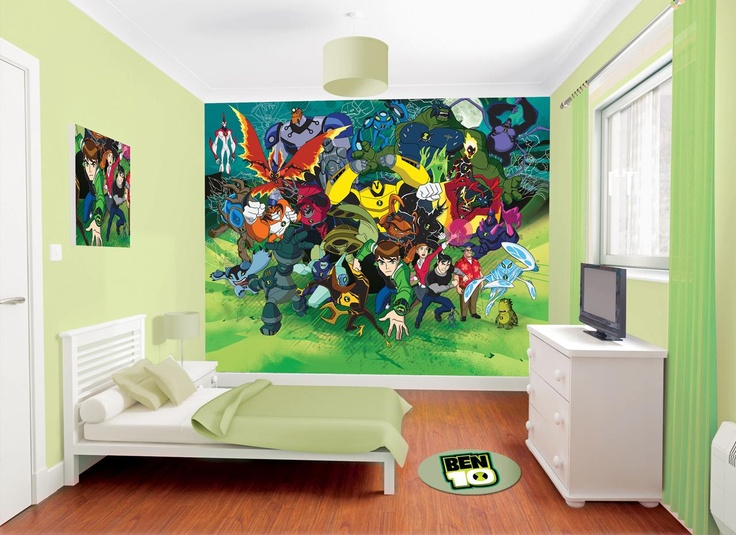 New Design Ben Ten Mural For Childrenu0027s Bedrooms Or Playrooms, Available  Now At WolfStock UK