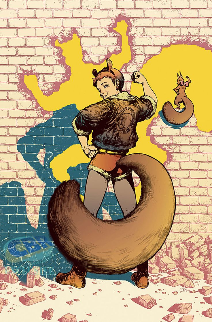Unbeatable Squirrel Girl #6 variant cover by Kamome Shirahama *