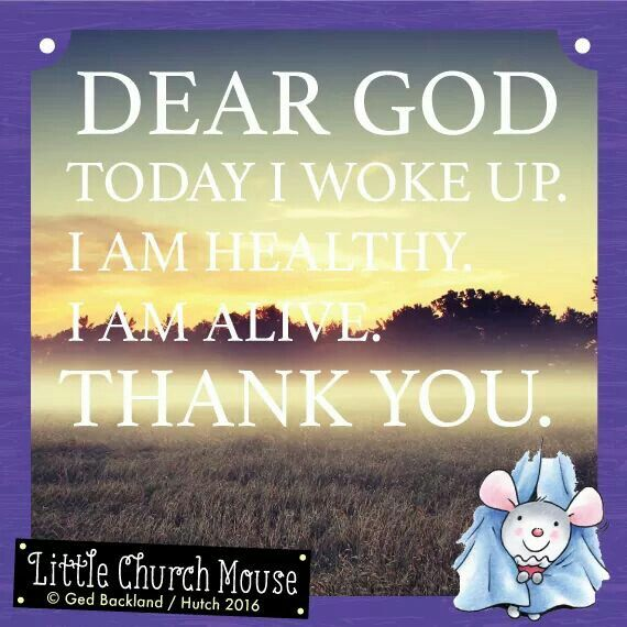 Thank God I M Alive Quotes: ~LiTTLe ChURch MOusE #1~