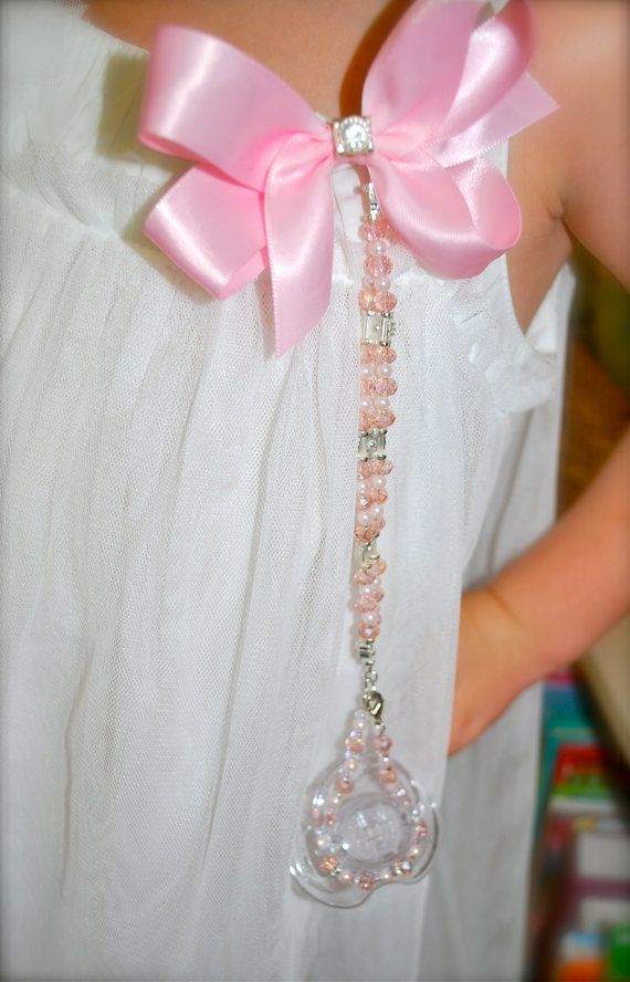 Gorgeous Baby Boutique 4in1 Beaded Pacifier by BabyBoutiqueGallery, $13.99