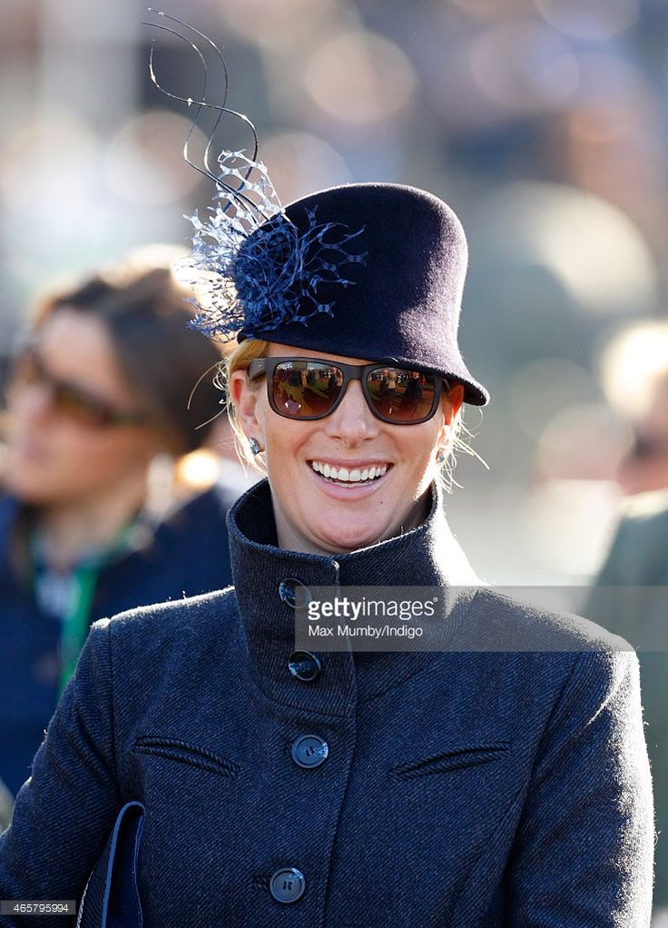 (EMBARGOED FOR PUBLICATION IN UK NEWSPAPERS UNTIL 48 HOURS AFTER CREATE DATE AND TIME) Zara Phillips watches her husband Mike Tindall's horse Monbeg Dude run in the 'Ultima Business Solutions Handicap Steeple Chase' as she attends day 1 of the Cheltenham Festival at Cheltenham Racecourse on March 10, 2015 in Cheltenham, England. (Photo by Max Mumby/Indigo/Getty Images)