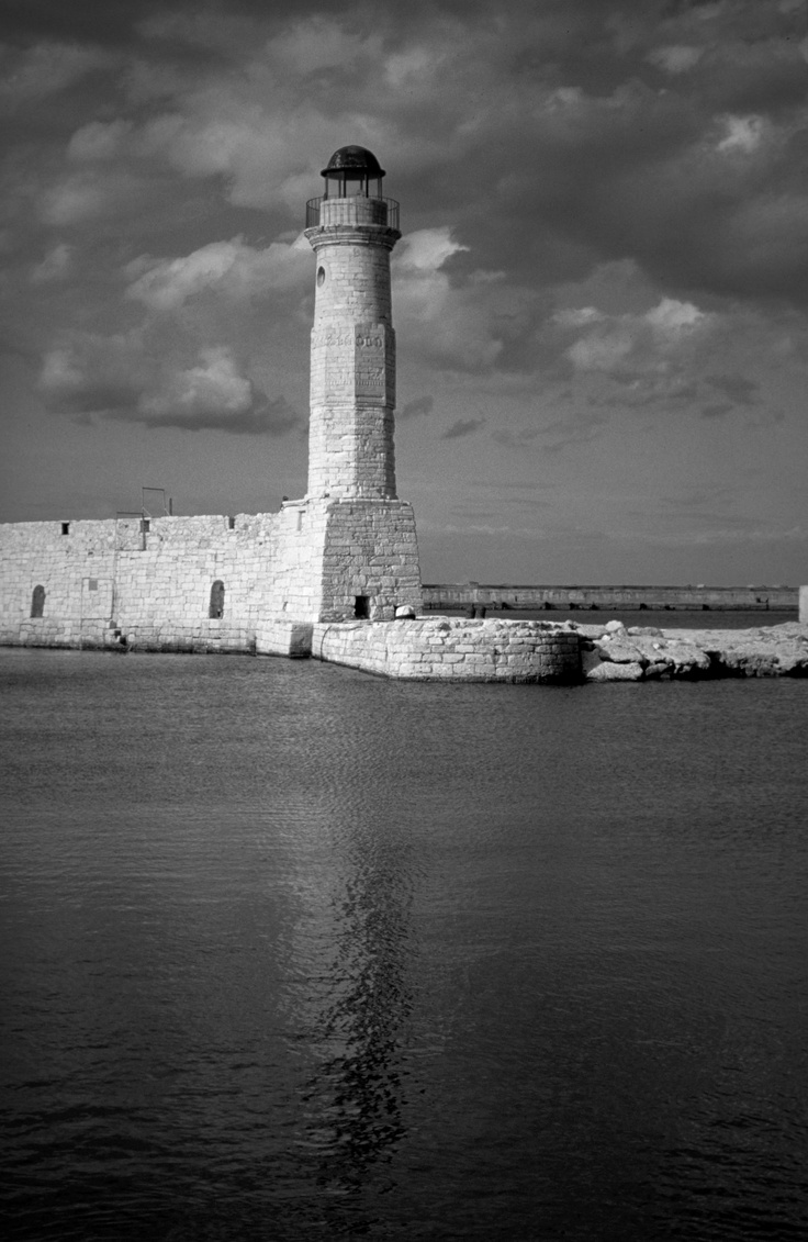 Rethimno in Black and White, #Rethimno #Crete #Greece