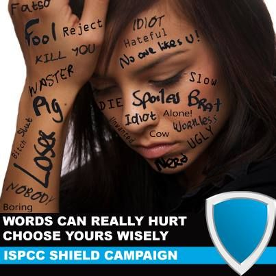 ISPCC Shield Anti-Bullying Campaign. Words Hurt. | Blog ...
