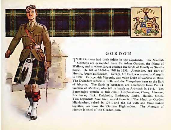 "Gordon Clan Saying: ""Do good and let them say...A Gordon! A Gordon!"""