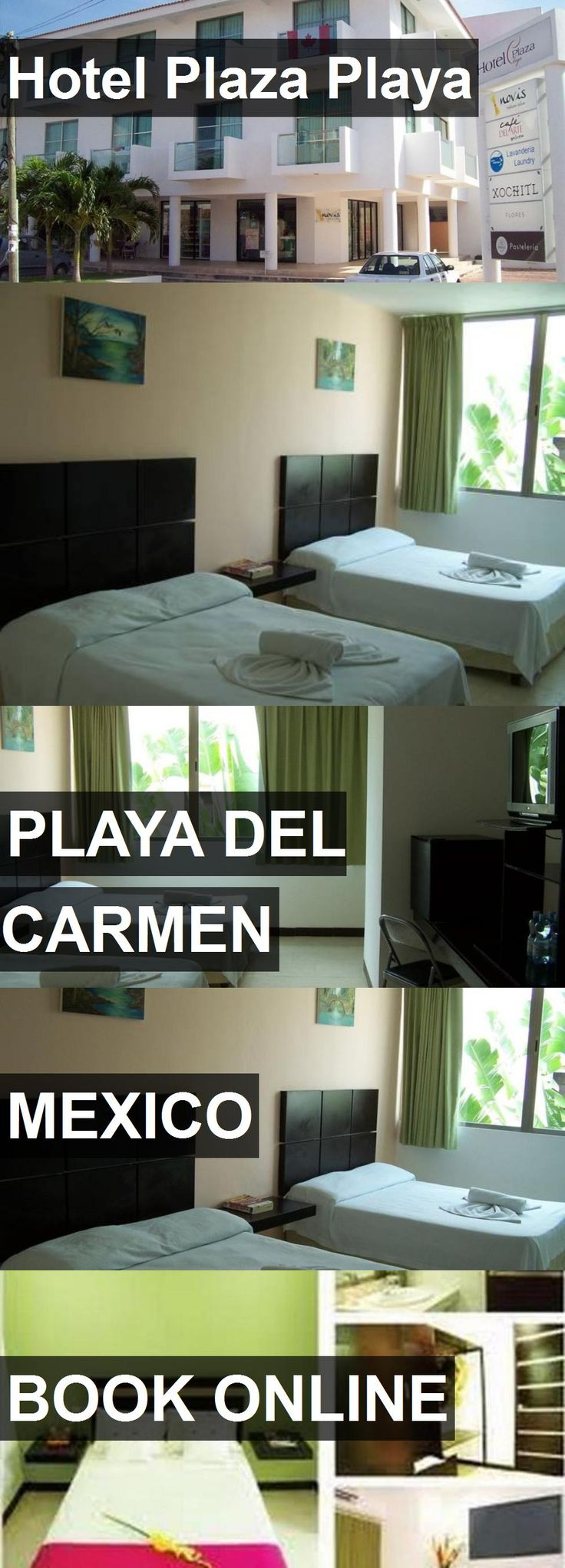 Hotel Hotel Plaza Playa in Playa Del Carmen, Mexico. For more information, photos, reviews and best prices please follow the link. #Mexico #PlayaDelCarmen #HotelPlazaPlaya #hotel #travel #vacation