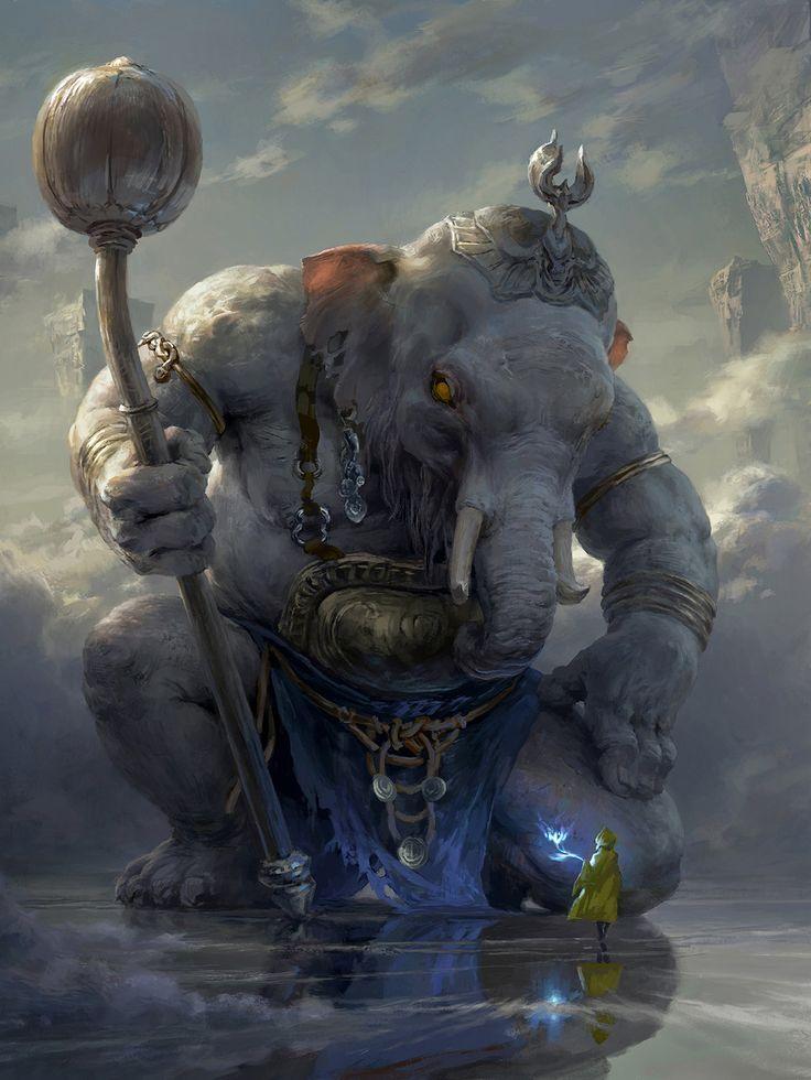 ashura elefante contra shair