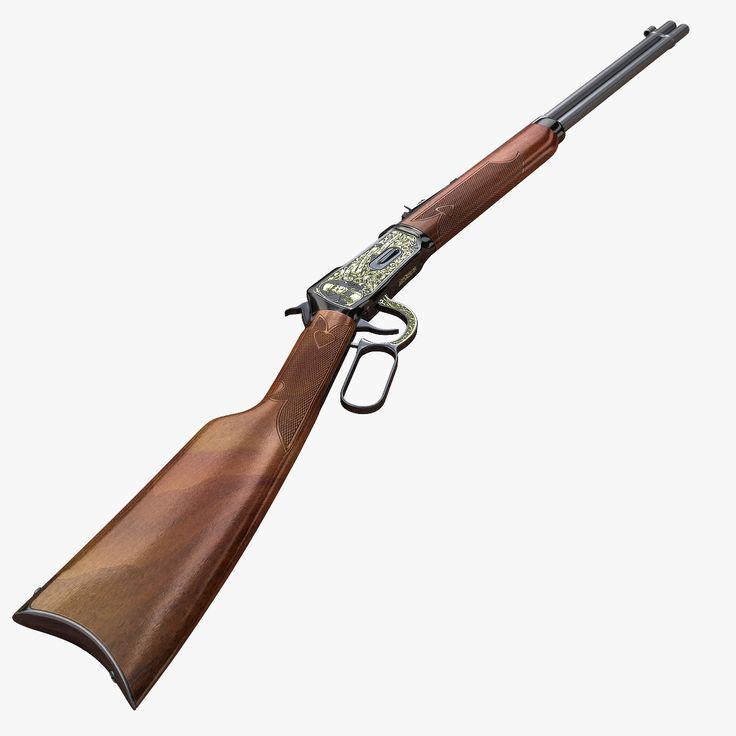 Winchester 1894 3D Model - 3D Model