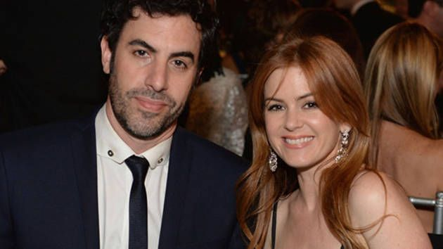Actor Baron Cohen and Isla Fisher give $1.37m for Syrian refugees  - Yahoo7