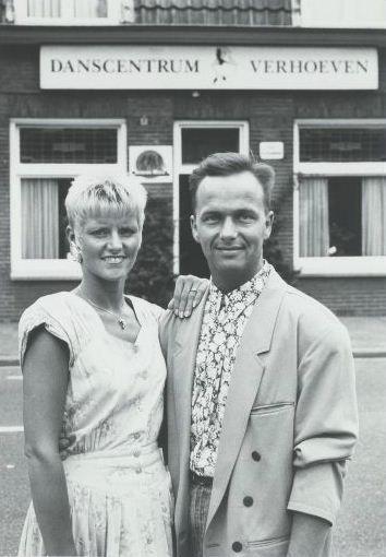 Alexia en Berry van Gangelt zijn beide dansleraar voor de dansschool Verhoeven voorheen de Linde aan de van Hogendorpstraat