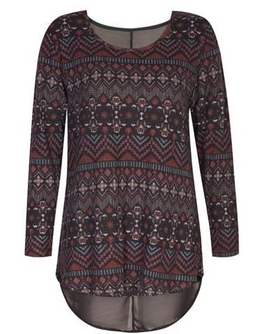 Aztec Double Layer Top from Mr Price