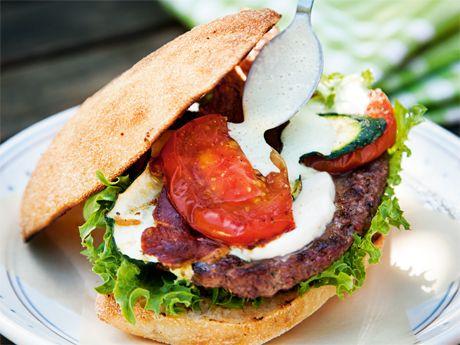 Grilled summerburger