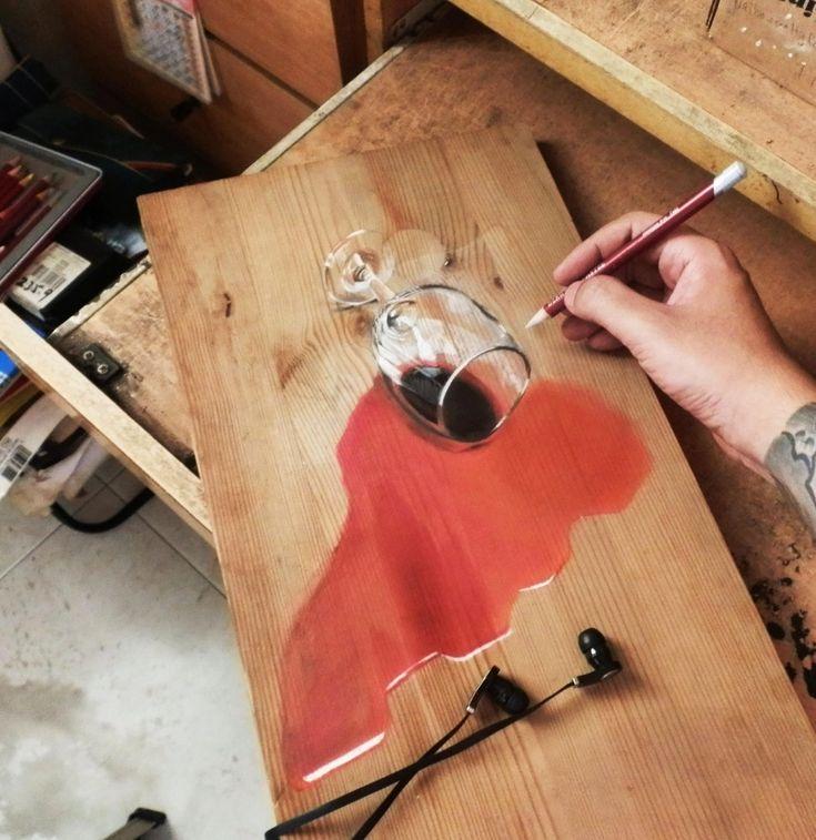Художник-самоучка Ivan Hoo - Все интересное в искусстве и не только.