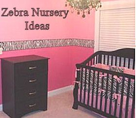 Pink Zebra Baby Nursery Ideas for Spring *for when I start a family*