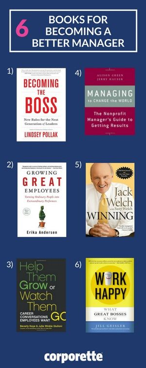 How can you become a better manager? We've rounded up several books about management and leadership, as well as some online resources for honing your skills.