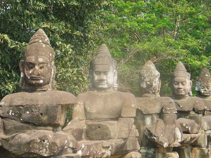 Figuren Angkor Wat